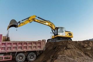 利勃海尔R922挖掘机