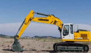 利勃海尔R934C挖掘机