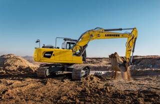 利勃海尔R924挖掘机