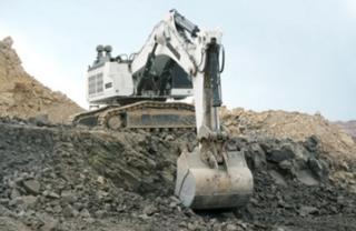 利勃海尔R9100B矿山挖掘机
