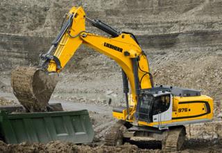 利勃海尔R976挖掘机