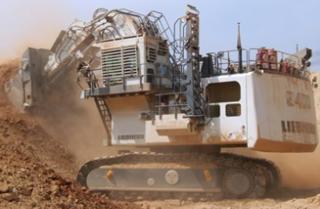 利勃海尔 R9400矿用 挖掘机