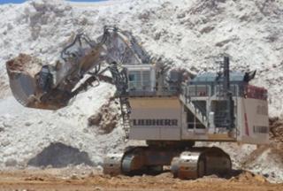 利勃海尔 R9800矿山 挖掘机图片