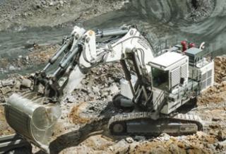 利勃海尔 R9250矿用 挖掘机