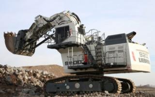 利勃海尔R9200矿山挖掘机