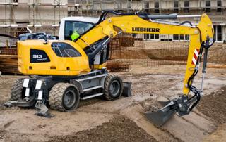 利勃海尔A913挖掘机