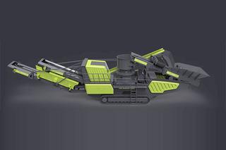美斯达MC-3000CS(多缸)移动破碎站
