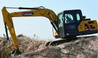 雷沃重工FR130E2-H挖掘机
