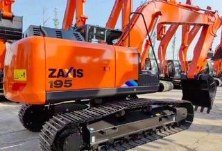日立ZX195-5A挖掘机