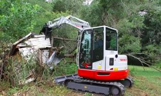 竹内 TB257FR 挖掘机