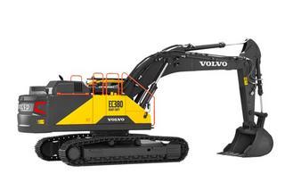 沃尔沃EC380 HEAVY DUTY挖掘机