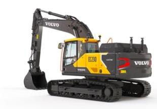 沃尔沃EC230电动挖掘机