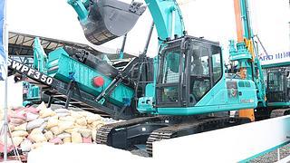 山河智能SWE215ERC智能遥控挖掘机