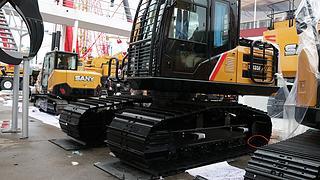 三一重工SY135F挖掘机