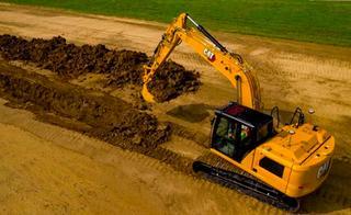 卡特彼勒317挖掘机