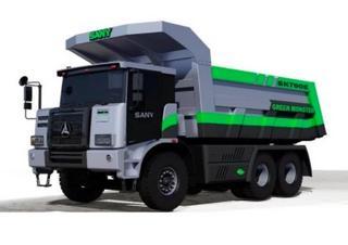 三一重工 SKT90E电动 非公路自卸车