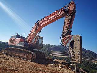 日立ZX520H-5A挖掘机