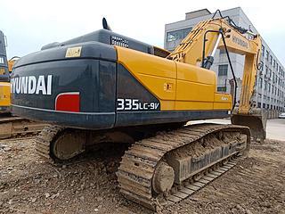 现代R335LC-9V挖掘机