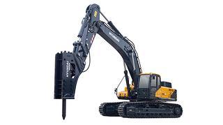 现代R550LVS挖掘机