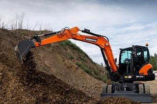 斗山DX57W-7挖掘机