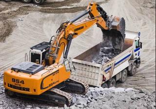 利勃海尔R954C挖掘机