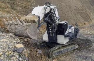 利勃海尔R9150矿用挖掘机