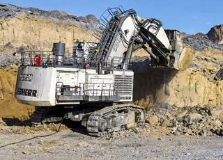 利勃海尔R9250矿用挖掘机