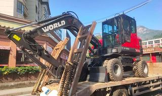沃得重工W275W-9挖掘机