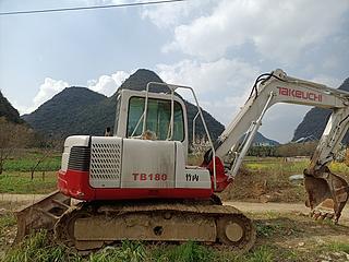 竹内TB180S挖掘机