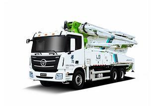 雷萨重机 BJ5289THB-XD(L9-40米) 泵车