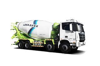 雷萨重机BJ5319GJB-6D(TL408)(LNG)搅拌运输车
