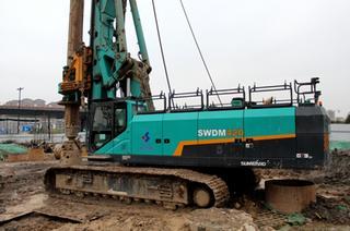 山河智能 SWDM420 旋挖钻