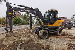 德州宝鼎BD95W-9A挖掘机