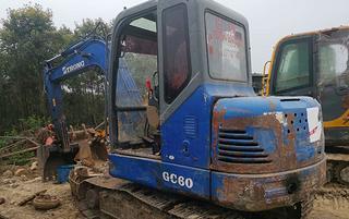山重建机GC60-6挖掘机