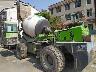 中科聚峰 JBC-26 搅拌运输车