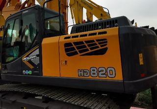 加藤 HD820-7 挖掘机图片