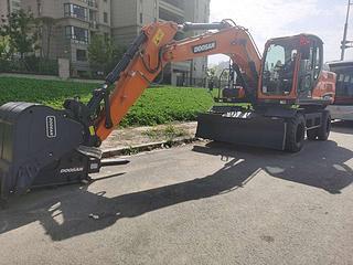 斗山DX150WE-9CN挖掘机