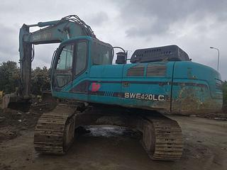 山河智能SWE365LC挖掘机