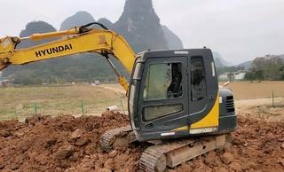 现代R80-9B挖掘机