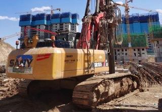 三一重工SR155旋挖钻