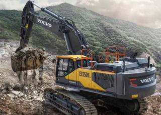 沃尔华EC550EL挖掘机