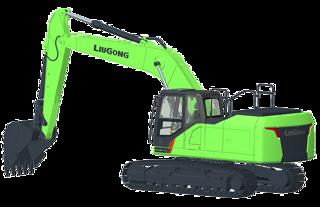 柳工CLG922F-E(电动)挖掘机