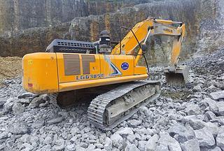 龙工LG6385E挖掘机