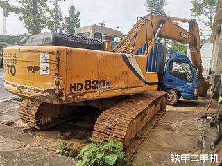 加藤 HD820ⅢSP 挖掘机图片