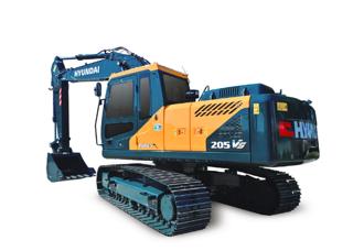现代 R205VS 挖掘机