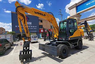 沃得重工W295W-9A挖掘机