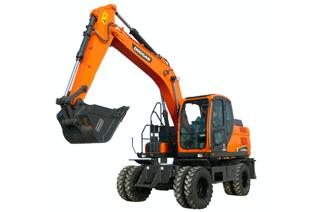 斗山 DX150WE-9C 挖掘机