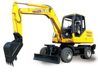 愚公机械 WYL75×4- 挖掘机