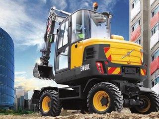 沃尔沃 EW60C 挖掘机
