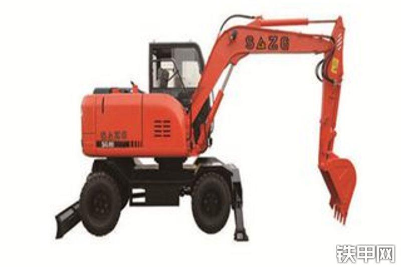 华夏山工SG90挖掘机整机外观